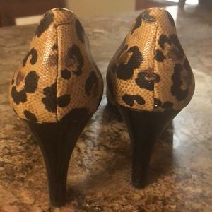 Naturalizer Shoes - Naturalizer Animal Cheetah Print Heels 8